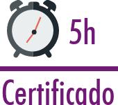 Certificado de 5 horas